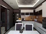 кухня с эксклюзивной мебелью