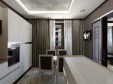 обеденная зона 3-х комнатной квартиры