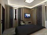 Потолочный светильник La Lampada в спальне