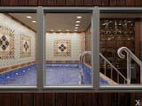 бассейн, баня, душевая загородного дома