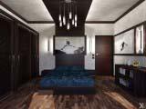 комната в современном стиле для мальчика