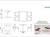 дизайн мебели Wienerwald стол и стулья чертежи