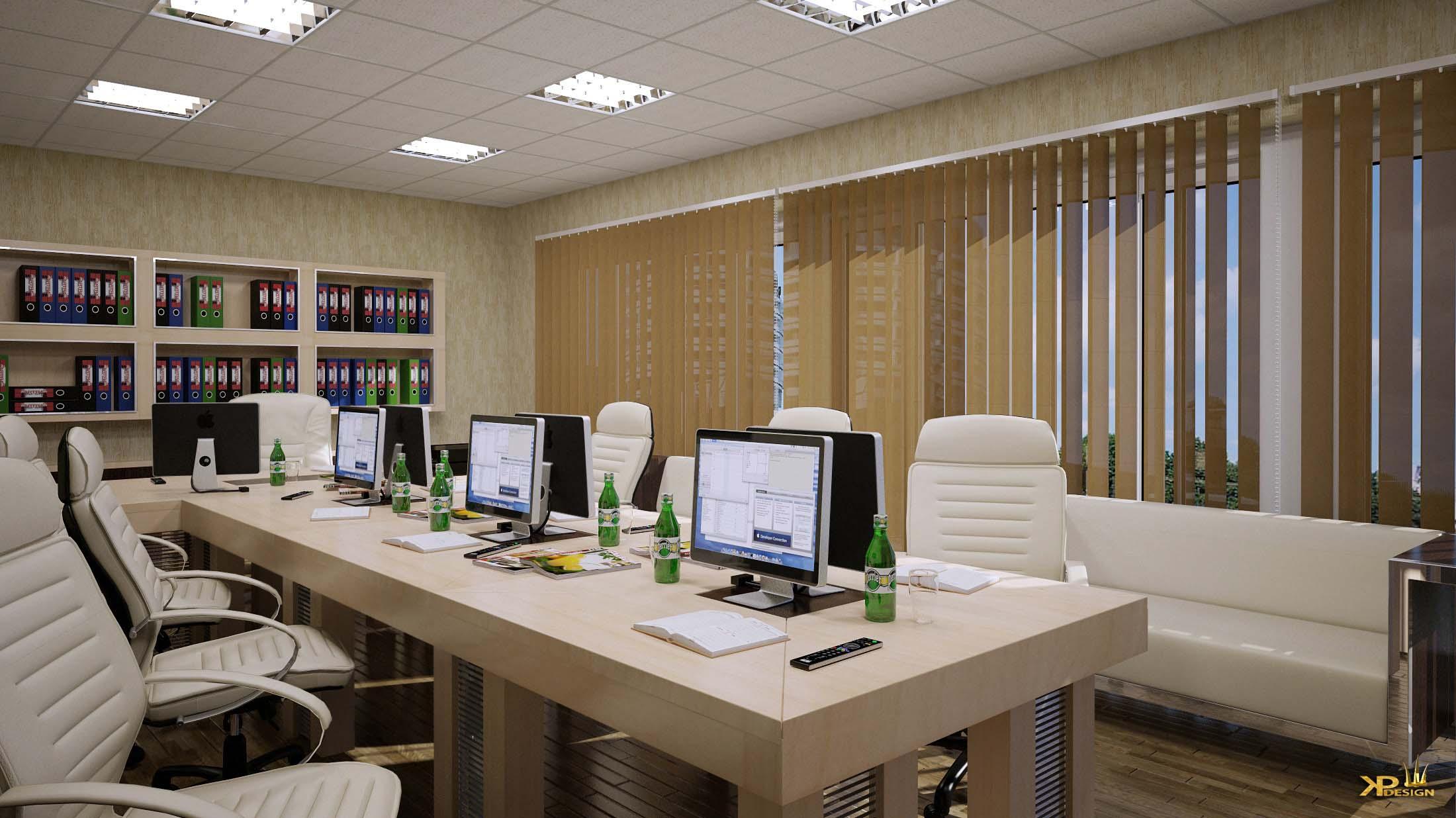 Дизайн-проект интерьера кафе в офисном центре в Москва