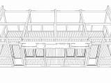 Кафе StarDogs опорная конструкция-перспектива фасад