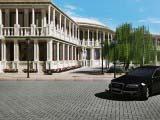 античный стиль архитектуры гостиницы