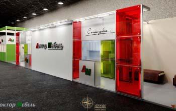 Разработка дизайна выставочных стендов в Москве.