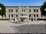 малый фонтан и гостиница комплекса
