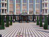 аллея главного входа бизнес центра