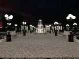 общая композиция освещения малой парковой зоны отдыха