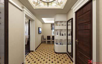 Дизайн интерьера двухкомнатной квартиры.