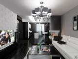 Электрокамин Dimplex Bingham в современной гостинной