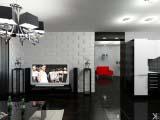 3d панели в гостинной