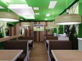 Интерьер кафе Венский лес-Wienerwald зона повышенного комфорта