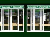 раздвижные окна кафе Wienerwald-Венский лес