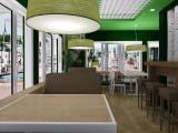 светильники на заказ кафе Венский лес