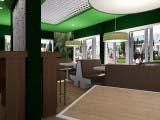 уютный интерьер кафе Венский лес