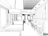 развертка светильников кафе Wienerwald