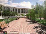 ландшафтный дизайн гостиничного комплекса