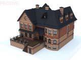 Эскиз загородного дома