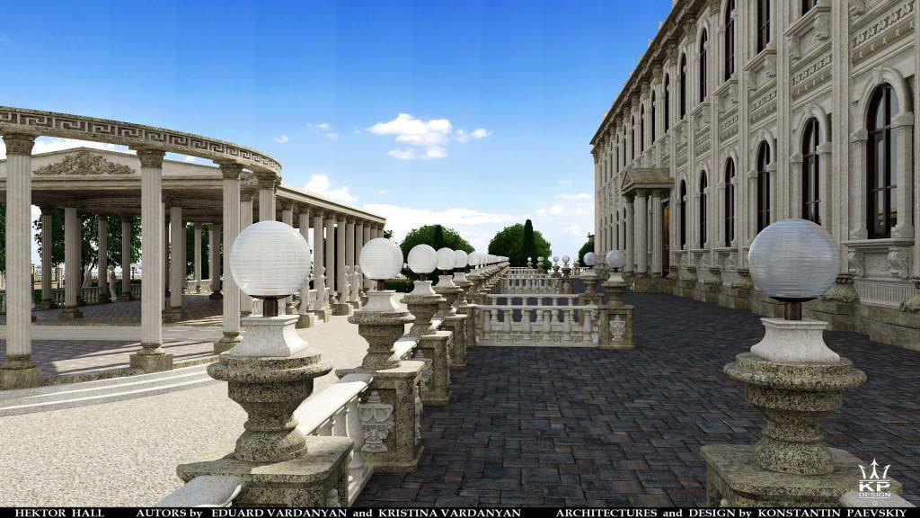концертный комплекс в античном стиле-2