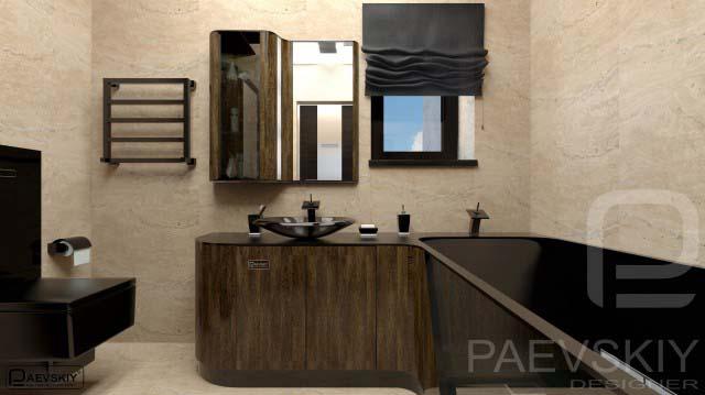 дизайн ванных комнат