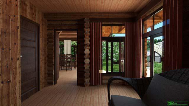 интерьер бани для загородного дома