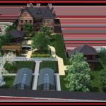 Ландшафтный дизайн участка перспектива-2