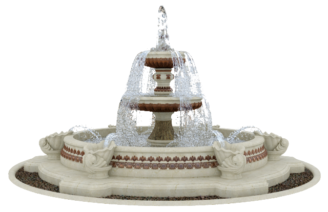дизайн фонтана в классическом стиле-1