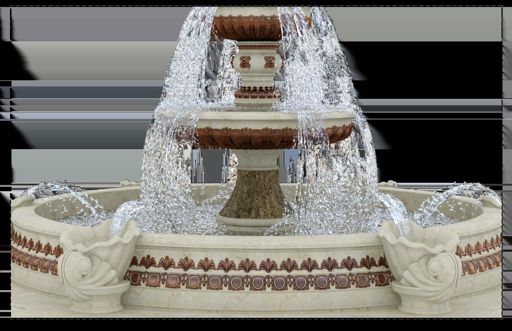 дизайн фонтана в классическом стиле-2