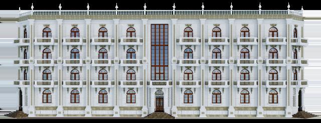 дизайн экстерьера гостиницы-1