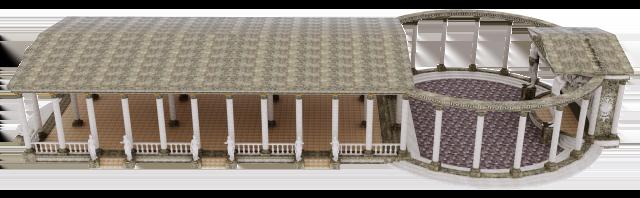 строение в античном стиле ампир