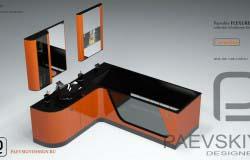 Дизайн мебели для ванной. Наборная мебель. Модульные системы.