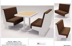 Дизайн предметов мебели для кафе. Входных групп, лестниц.