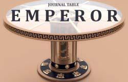 Журнальный стол EMPEROR в стиле Русский Ампир.