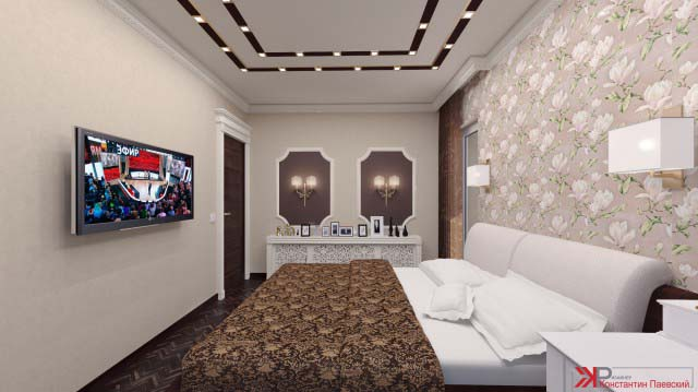 Интерьер двухкомнатной квартиры в Москве