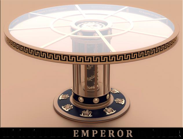 Журнальный стол emperor in cuper