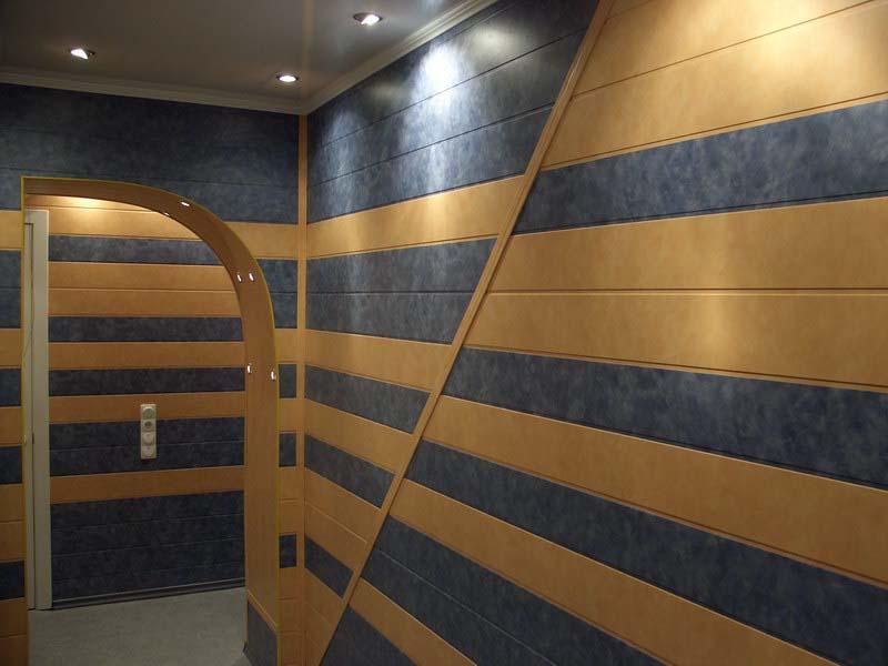 отделка стен и потолка пластиковыми панелями