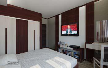 Идеи оформления спальни в квартире.