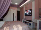 дизайн спальни квартиры