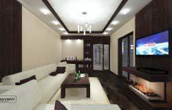 Варианты оформления гостиной в современном стиле.