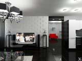 современное оформление гостиной