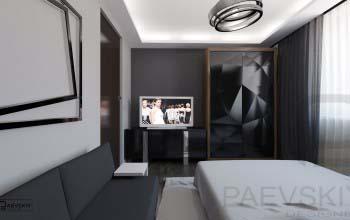 Варианты оформления спальни в современном стиле.