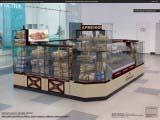 островной павильон для торговых центров