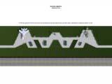расположение дорожно тропиночной сети для парка