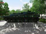 экспонаты военной техники 2С1