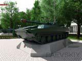экспонаты военной техники БМП-1