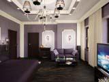 использование классических элементов при оформлении спальни