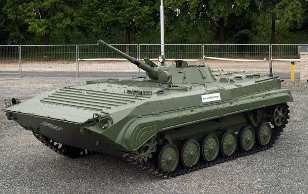 3D модель БМП-1