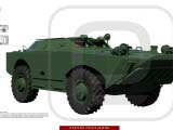 3D модель БРДМ-1