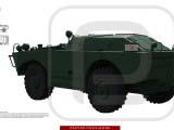 3d model brdm-1